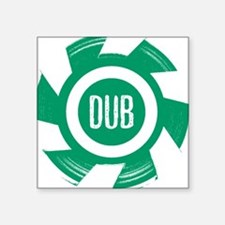 Dub Green - Square Sticker