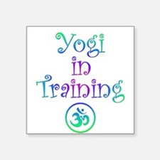 Yoga Clothing - Creeper Square Sticker