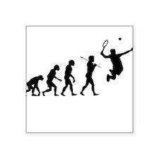 Evolve - Tennis Square Sticker