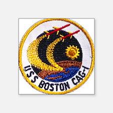 USS BOSTON Square Sticker