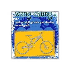Wang Chung Square Sticker