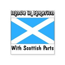Scottish Parts Square Sticker