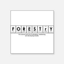 FORESTRY Square Sticker