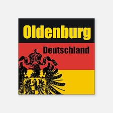 Oldenburg Deutschland Square Sticker