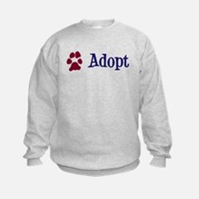 Adopt (With Paws) Sweatshirt