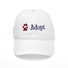 Adopt (With Paws) Baseball Cap