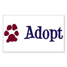 Adopt (With Paws) Decal