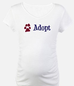 Adopt (With Paws) Shirt