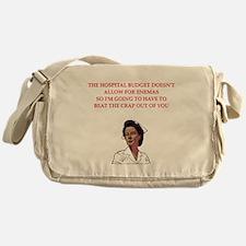 NURSE.png Messenger Bag