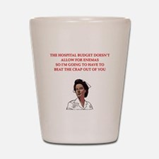 NURSE.png Shot Glass