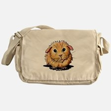 Golden Guinea Pig Messenger Bag