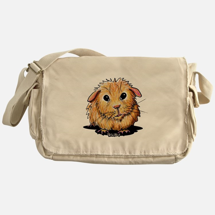 Golden Guinea Pig Messenger Bag