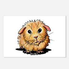Golden Guinea Pig Postcards (Package of 8)
