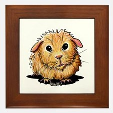 Golden Guinea Pig Framed Tile