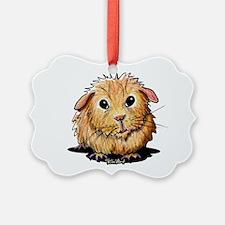 Golden Guinea Pig Ornament