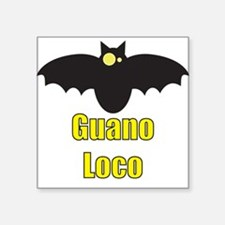 Guano Loco Kids Clothes Square Sticker