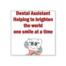 Dental Assistant Square Sticker