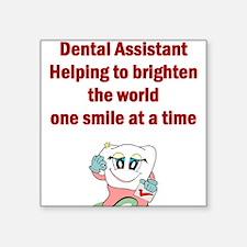 Dental Assistant Square Sticker