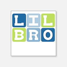 Lil Bro Creeper Square Sticker