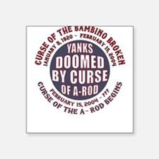 Yanks Doomed Square Sticker