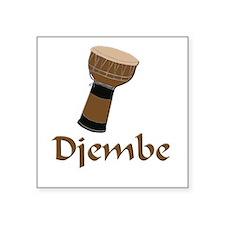 djembe Square Sticker