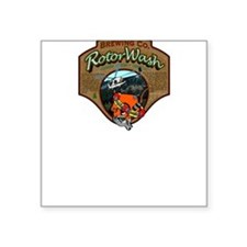 RW Brewing Co. Hookers Especiale.Square Sticker