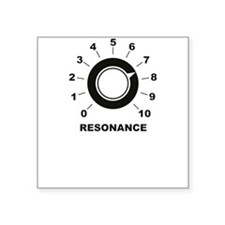 Resonance Square Sticker