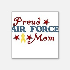 Air Force Mom (collage) Square Sticker