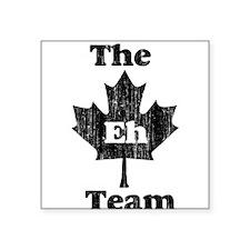 Vintage Team Eh Square Sticker