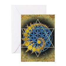 Divine Awakening Greeting Card