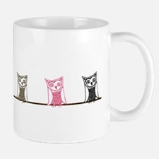 6 owls Mug