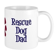 Rescue Dog Dad Small Mug