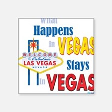 Vegas Square Sticker