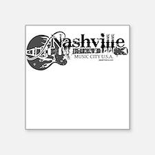 Nashville Square Sticker