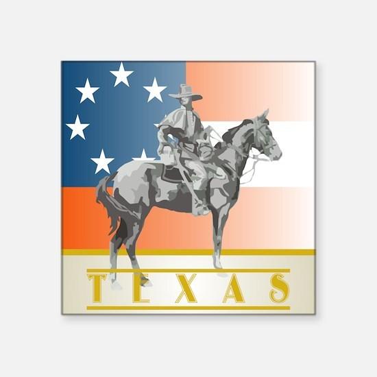 Texas Sentry Square Sticker
