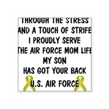 Air Force Mom - My Son has got your back Poem Wome