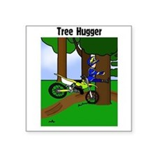 MX Tree Hugger Square Sticker