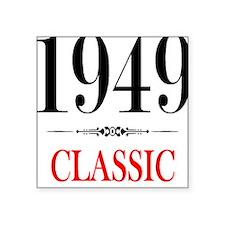 1949 Square Sticker