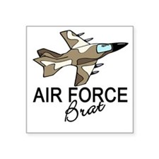 Air Force Brat Square Sticker