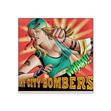 Bombers Square Sticker