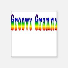 Groovy Granny Square Sticker