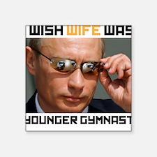 Vladimir Putin Square Sticker