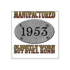 Manufactured 1953 Square Sticker