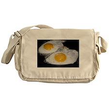 Fried Eggs eggs over easy Messenger Bag