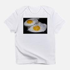 Fried Eggs eggs over easy Infant T-Shirt