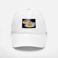 Fried Eggs eggs over easy Baseball Baseball Cap