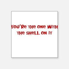 Tommy Boy - Shell On It Square Sticker