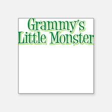 Grammy's Little Monster's Square Sticker