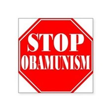 Stop Obamunism Square Sticker