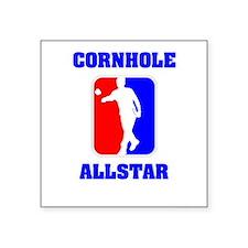 Cornhole Allstar II Square Sticker